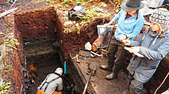 Hallazgo arqueológico en Canadá