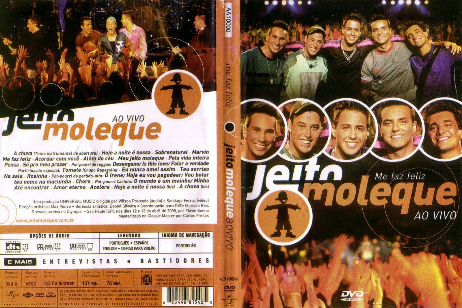 cd jeito moleque vivo 2011