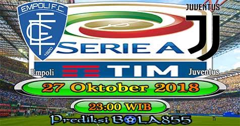 Prediksi Bola855 Empoli vs Juventus 27 Oktober 2018