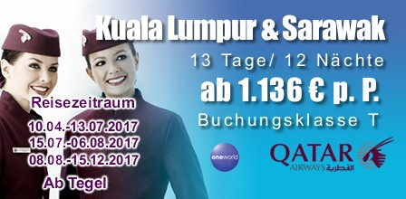 Kombireise Malaysia