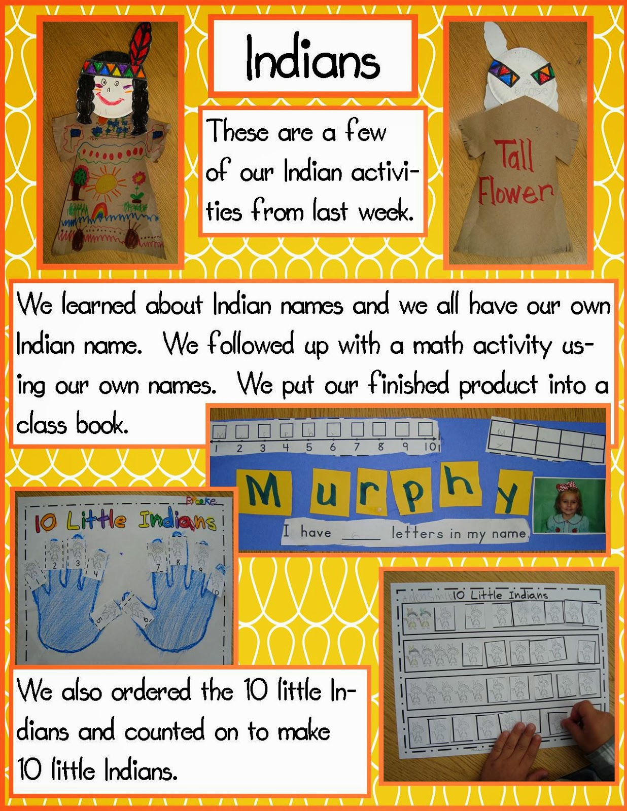 Golden Gang Kindergarten Indians And Pilgrim Math Freebies
