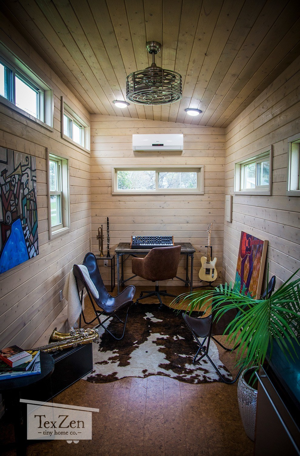 Tex Zen Mobile Office 187 Sq Ft TINY HOUSE TOWN