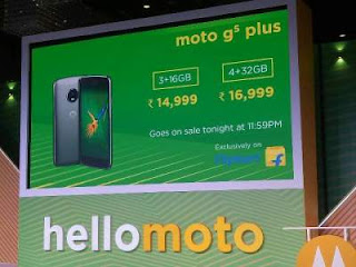 Moto G5 Plus Launched in India prices availability