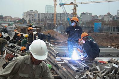 Cập nhật tiến độ xây dựng chung cư Vinhomes Trần Duy Hưng