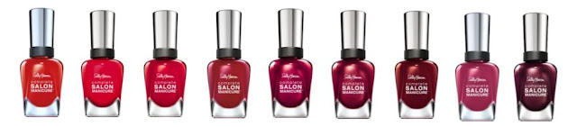Sally Hansen Complete Salon Manicure RED/esign Collection - with swatches!