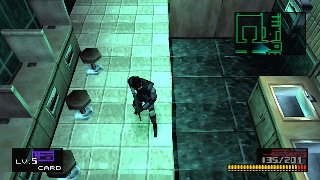 Metal Gear Solid - PSX - Captura 1
