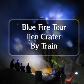 Blue Fire By Train
