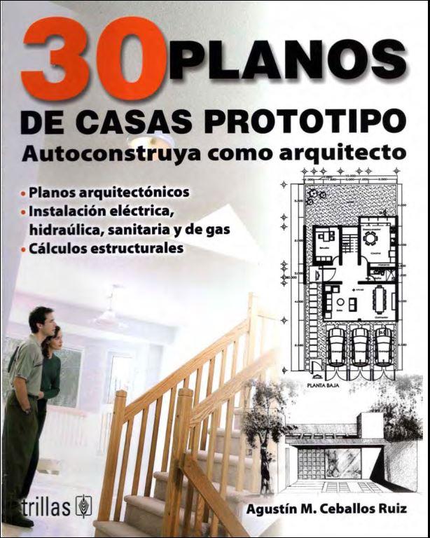 Libros y mas 30 planos de casas prototipo for Software para planos de casas