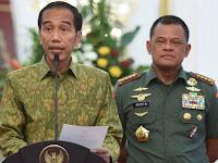 Progres 98: Nafsu Jokowi untuk Copot Panglima TNI Gatot Nurmantyo Harus Dihentikan