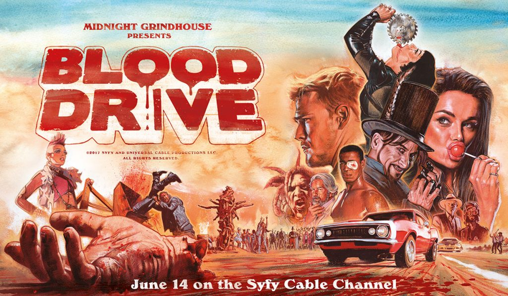Blood Drive Poster SyFy