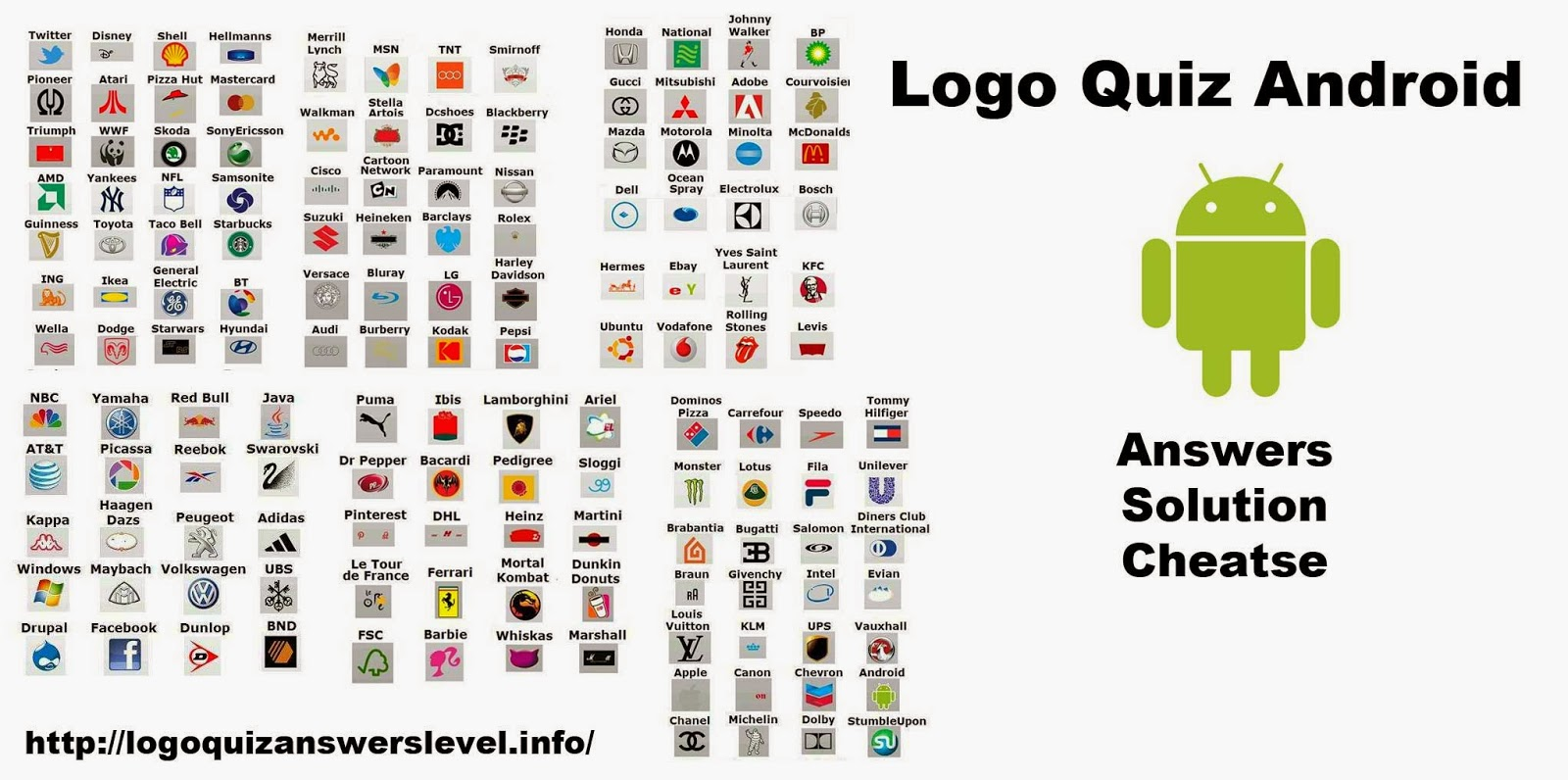 Car Logos Quiz Answers