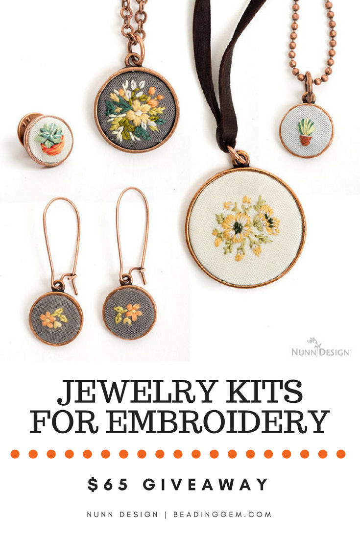 jewelry kits for nunn design s 65 giveaway jewelry kits for embroidery 7939