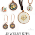 Nunn Design's $65 Giveaway : Jewelry Kits for Embroidery