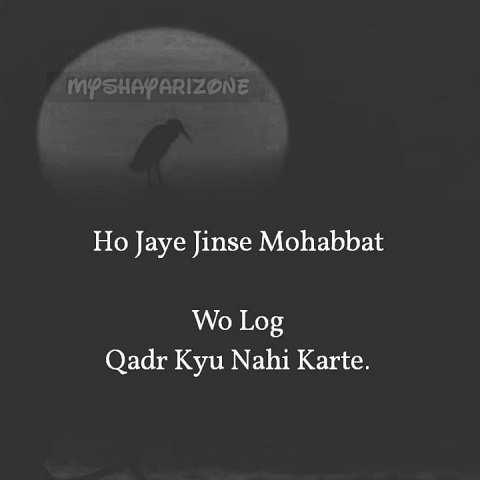 2 Lines Emotional Shayari Mohabbat Ki Qadar in Hindi