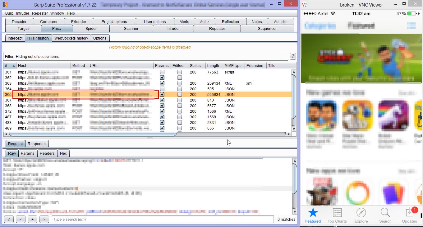 Information Security Aficionado Working With Burpsuite