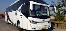 Sewa bus Trac
