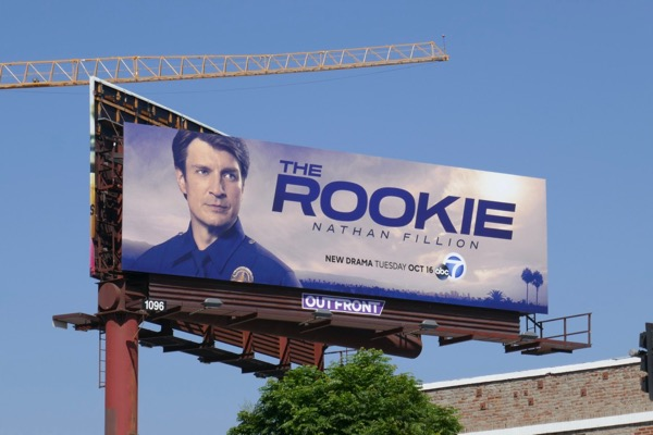 Rookie series premiere billboard