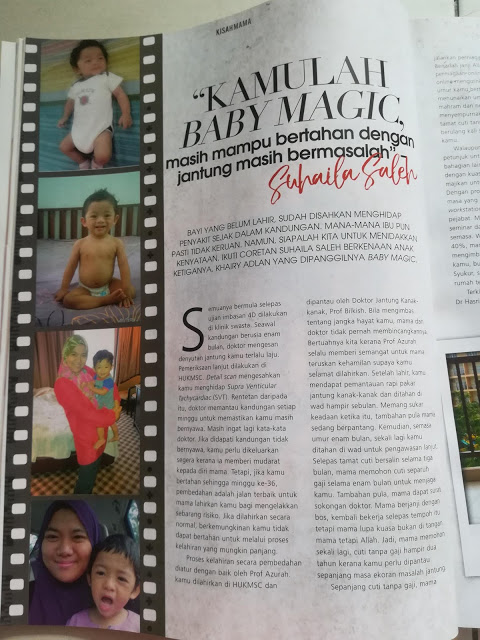 Feature In Pa&Ma Magzine