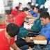 Đoàn viên thanh niên tham gia ngày hội hiến máu tình nguyện đợt I năm 2019