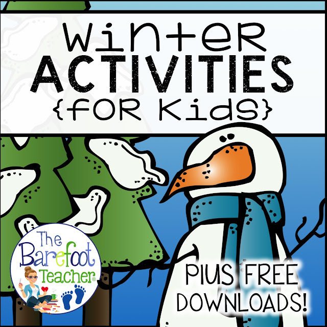 If your looking for winter or Christmas crafts, ideas, and activities for Preschool, Kindergarten, or First grade students, you've found them! Download some FREE resources too while you're here. These snow and snowman themed activities will keep your students engaged and excited about the season!