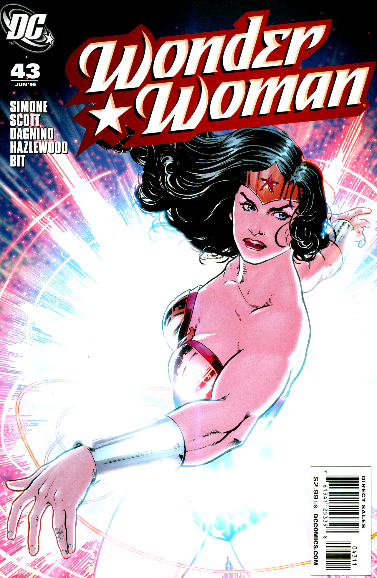 Read online Wonder Woman (2006) comic -  Issue #43 - 1