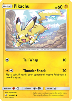 Pikachu Burning Shadows Pokemon Card Review Primetimepokemon S Blog