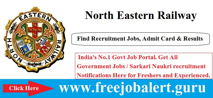 North Eastern Railway, Railway, Railway Teacher Jobs, RRB Recruitment, N.E. Railway, ner logo