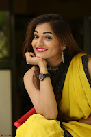 Cute Actress Ashwini in Yellow Saree Exclusive  005.JPG