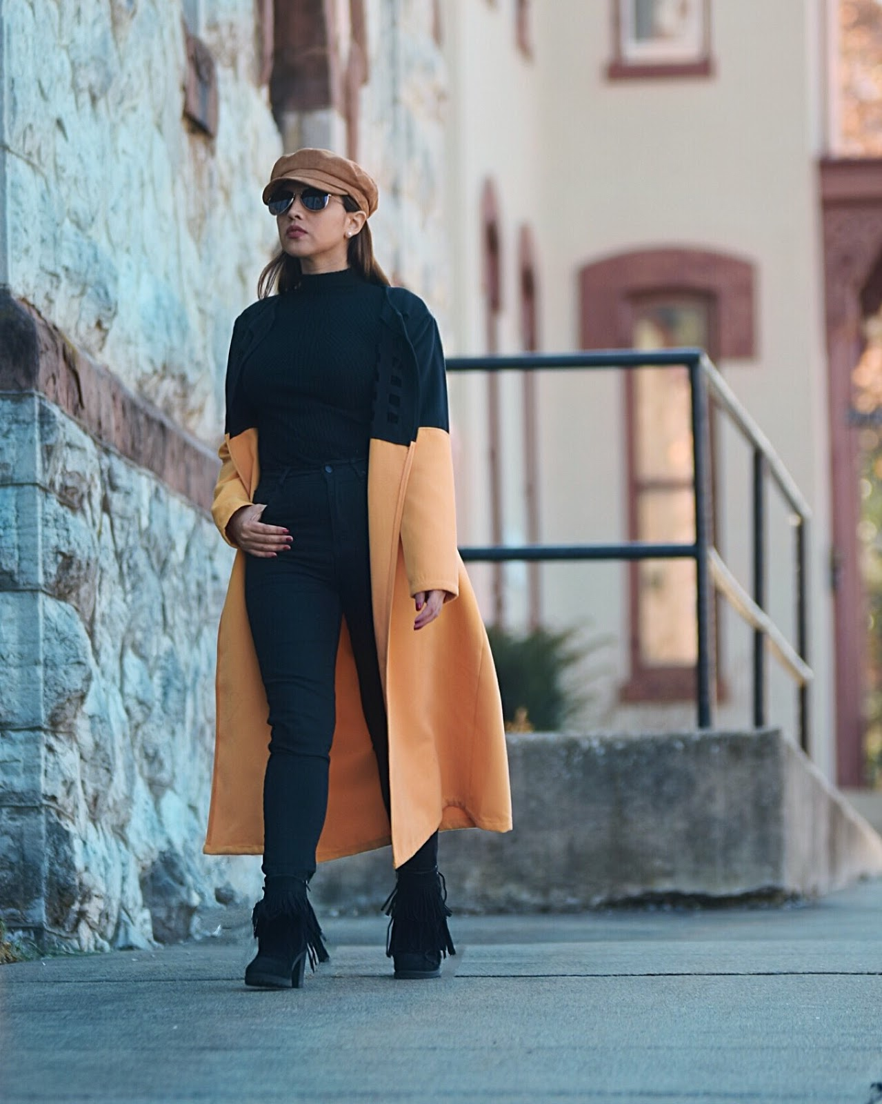 Un Toque De Amarillo En Invierno by Mari Estilo-lookoftheday-fashionblogger-dcblogger-