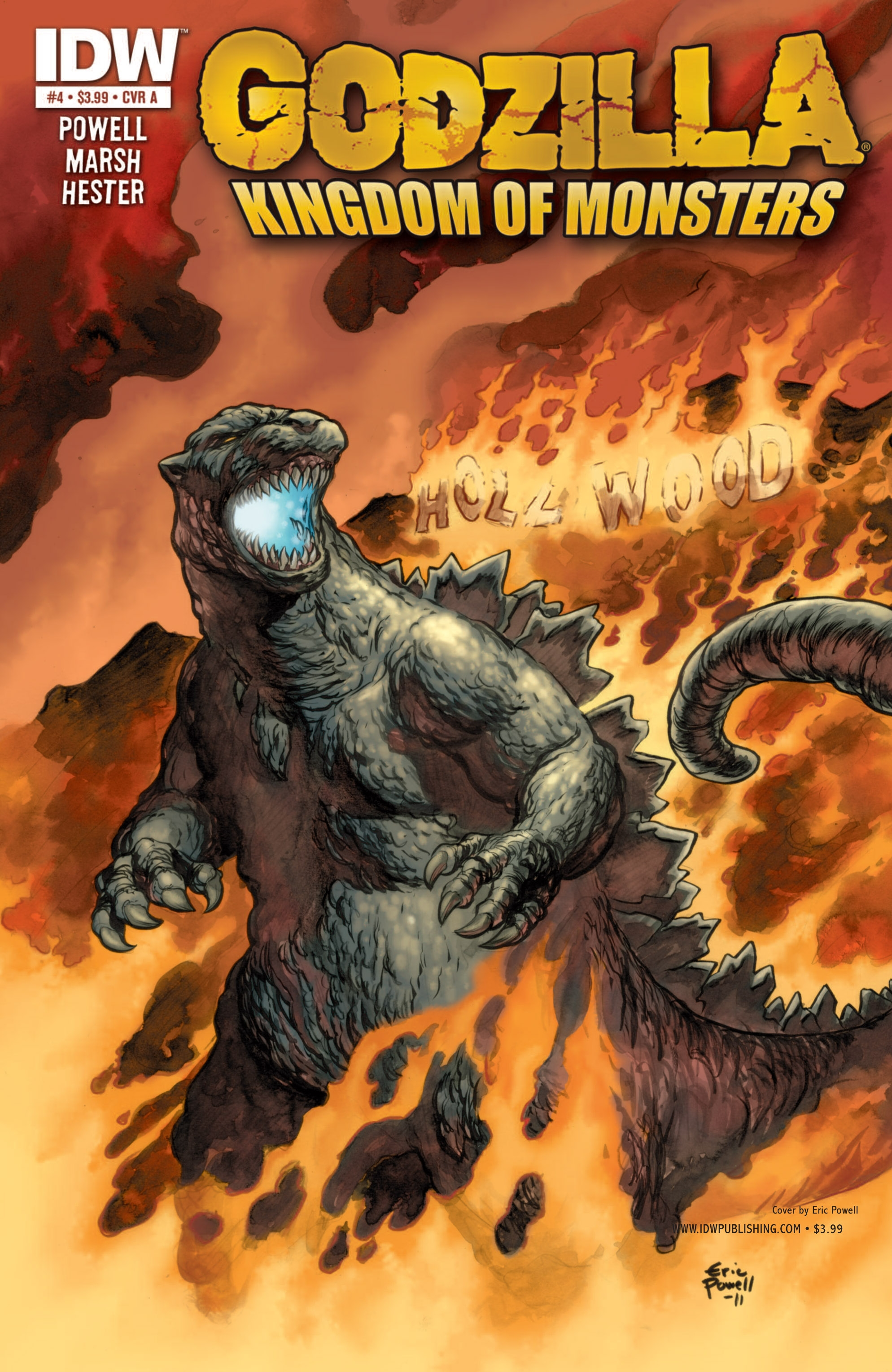 Godzilla: Kingdom of Monsters 4 Page 1