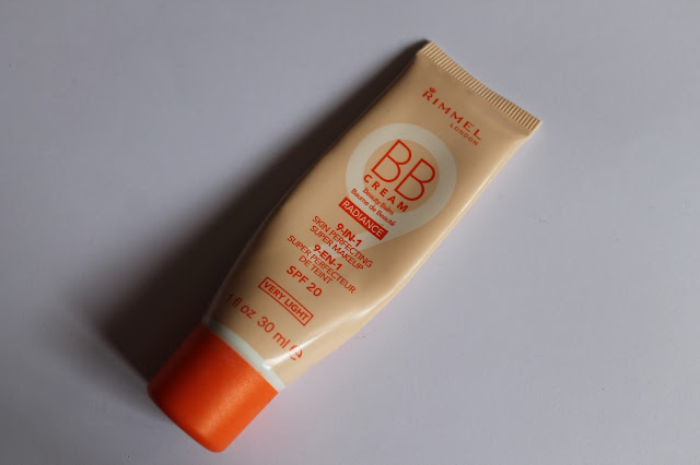 "Swatchs Baume de Beauté 9-en-1 Super Perfecteur de Teint ""BB Cream Radiance"" Rimmel Very Light"