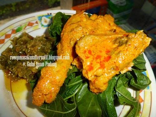 Resep Gulai Ayam Bumbu Padang Asli Enak