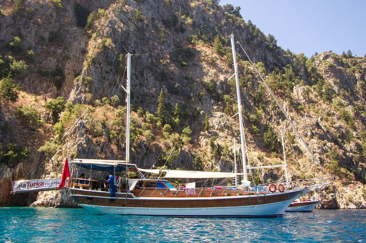 Soar in Kas' Skies and Dive in its Seas