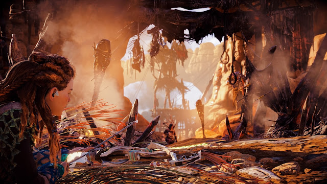 Horizon: Zero Dawn on PlayStation 4