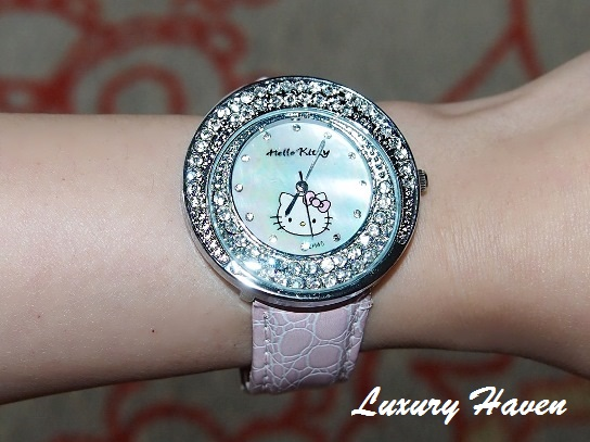 ikojia penang 1st avenue mall hello kitty watch
