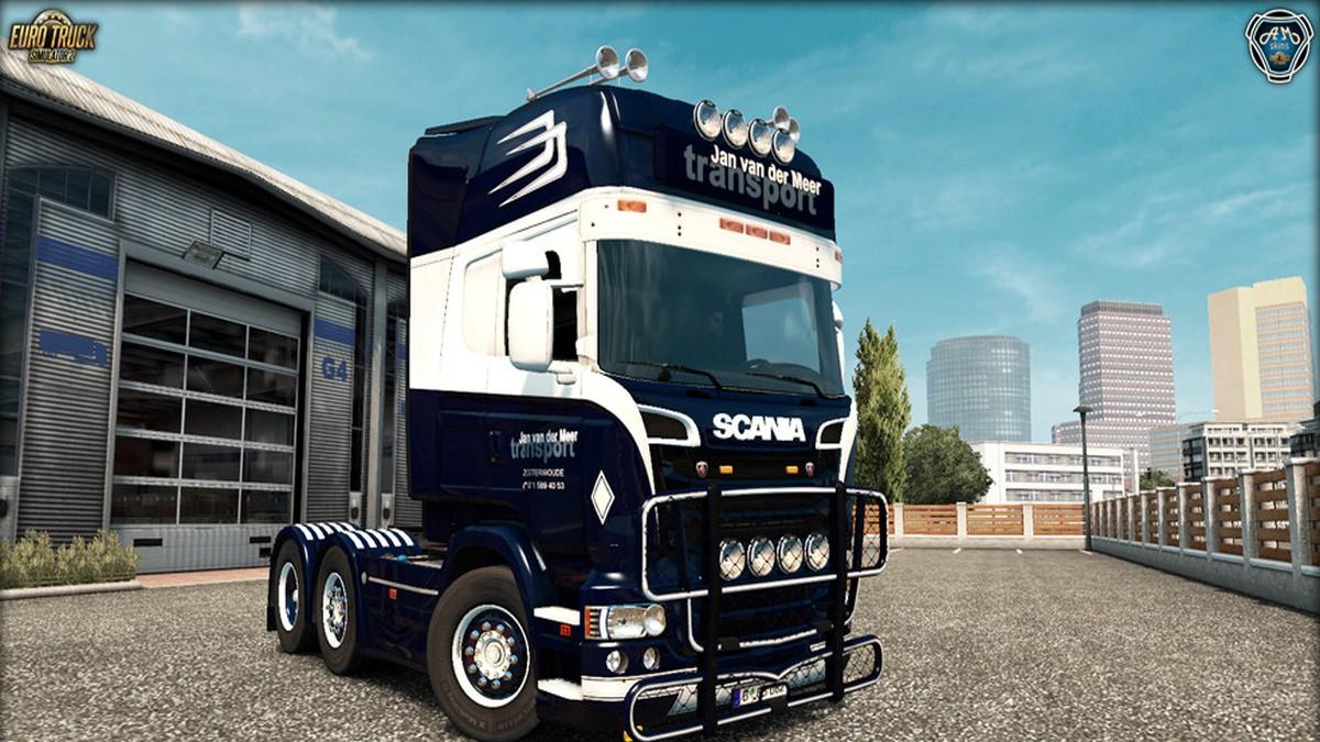 Scania RJL Jan van der Meer Kit
