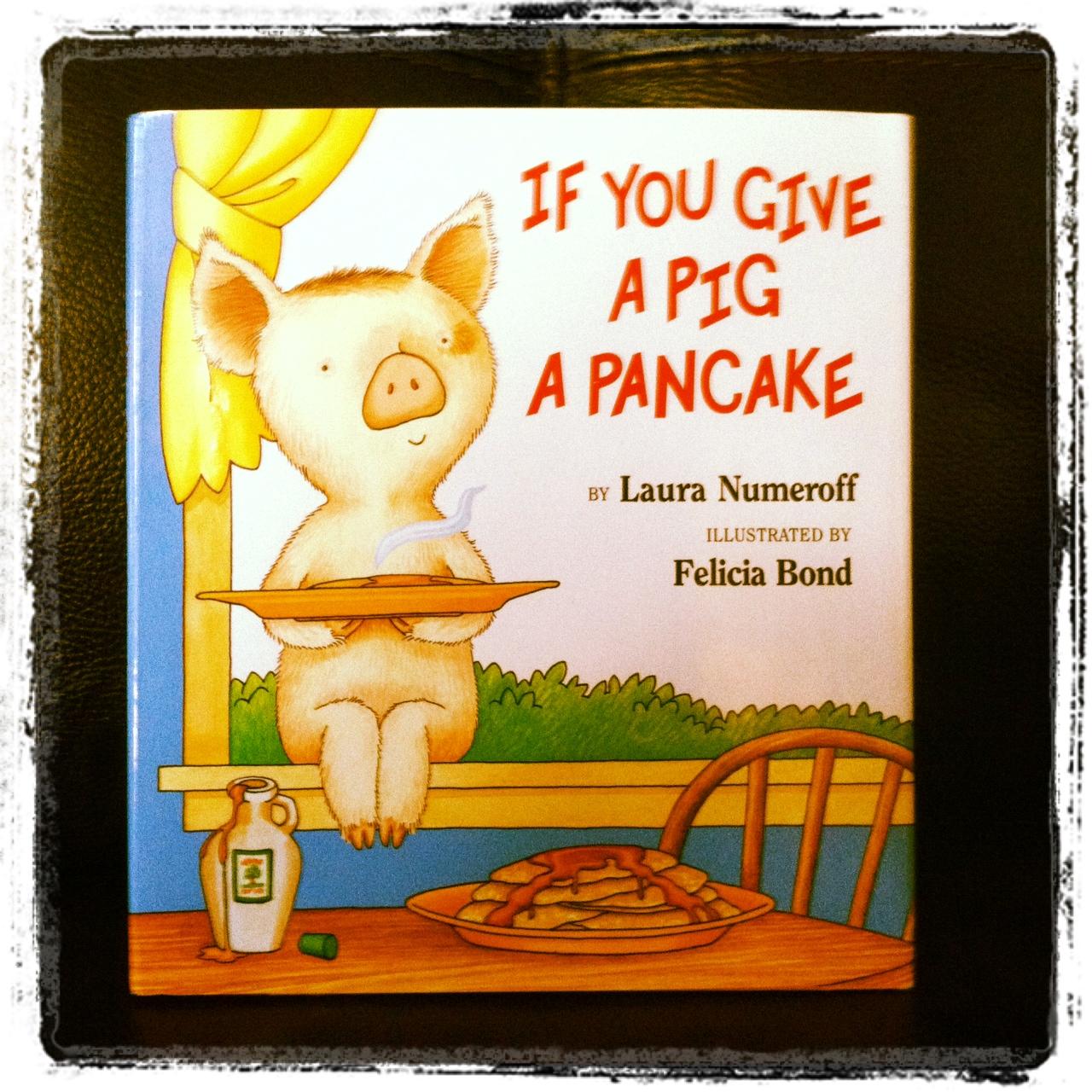 Pen Pals Amp Picture Books Pancakes Pancakes Did I