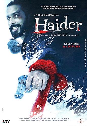 Haider (2014) Movie Poster No. 2