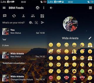 BBM MOD Transparan versi 3.2.5.12 Apk