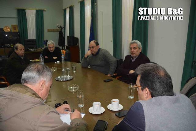 Επίσκεψη και ομιλία του Γ.Γ. του ΕΠΑΜ Δημήτρη Καζάκη στο Άργος