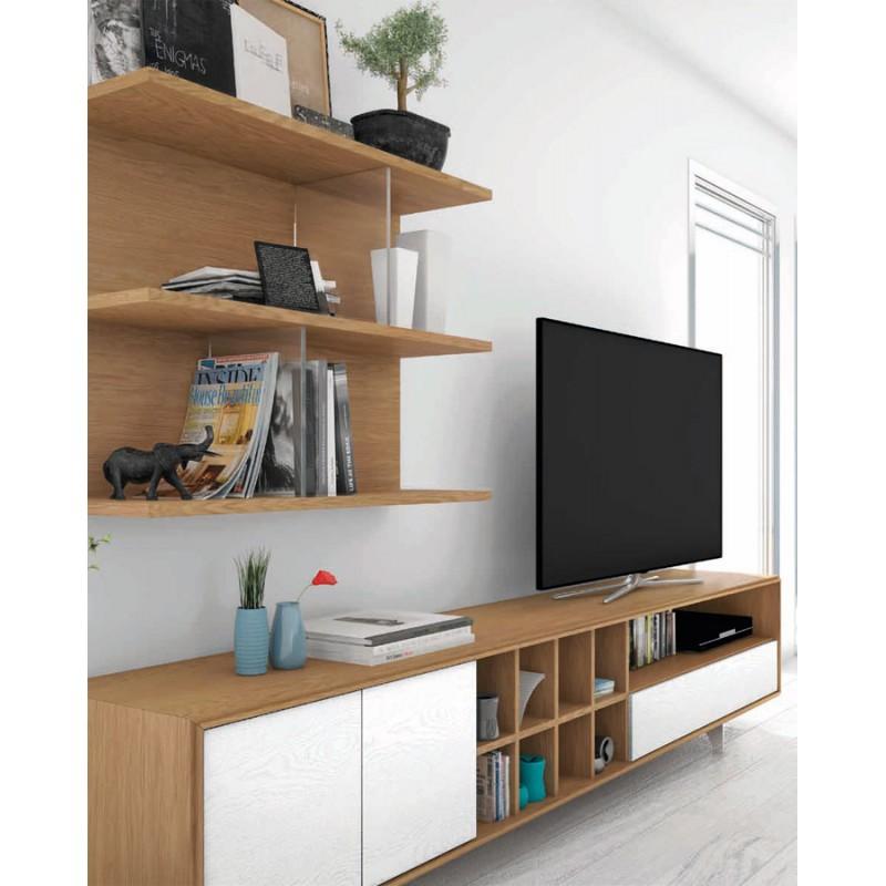 Arte h bitat tu tienda de muebles composici n vega 1 de for Muebles nogal yecla