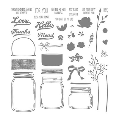 Jar of Love stamp set Stampin' Up!