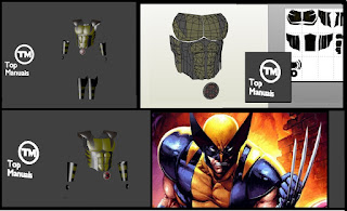 veja também armadura do Wolverine