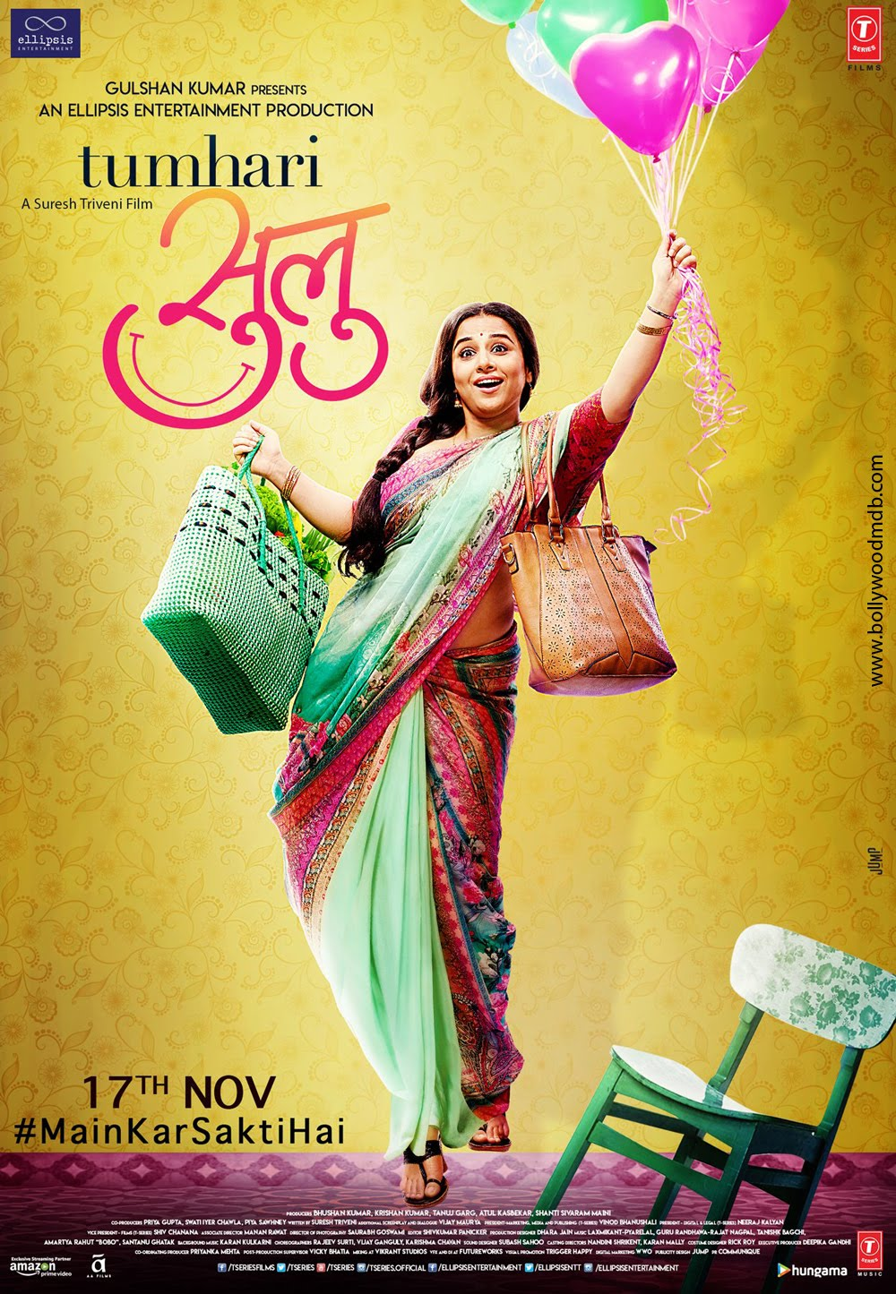 Tumhari Sulu (2017) Hindi 430MB WEB-DL 480p