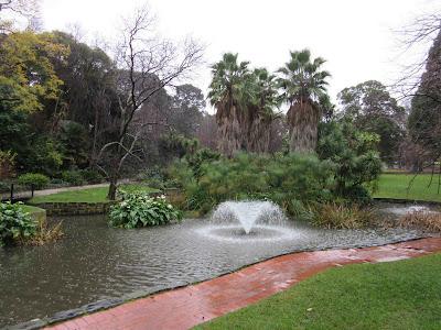 Jardines Fitzroy. Melbourne