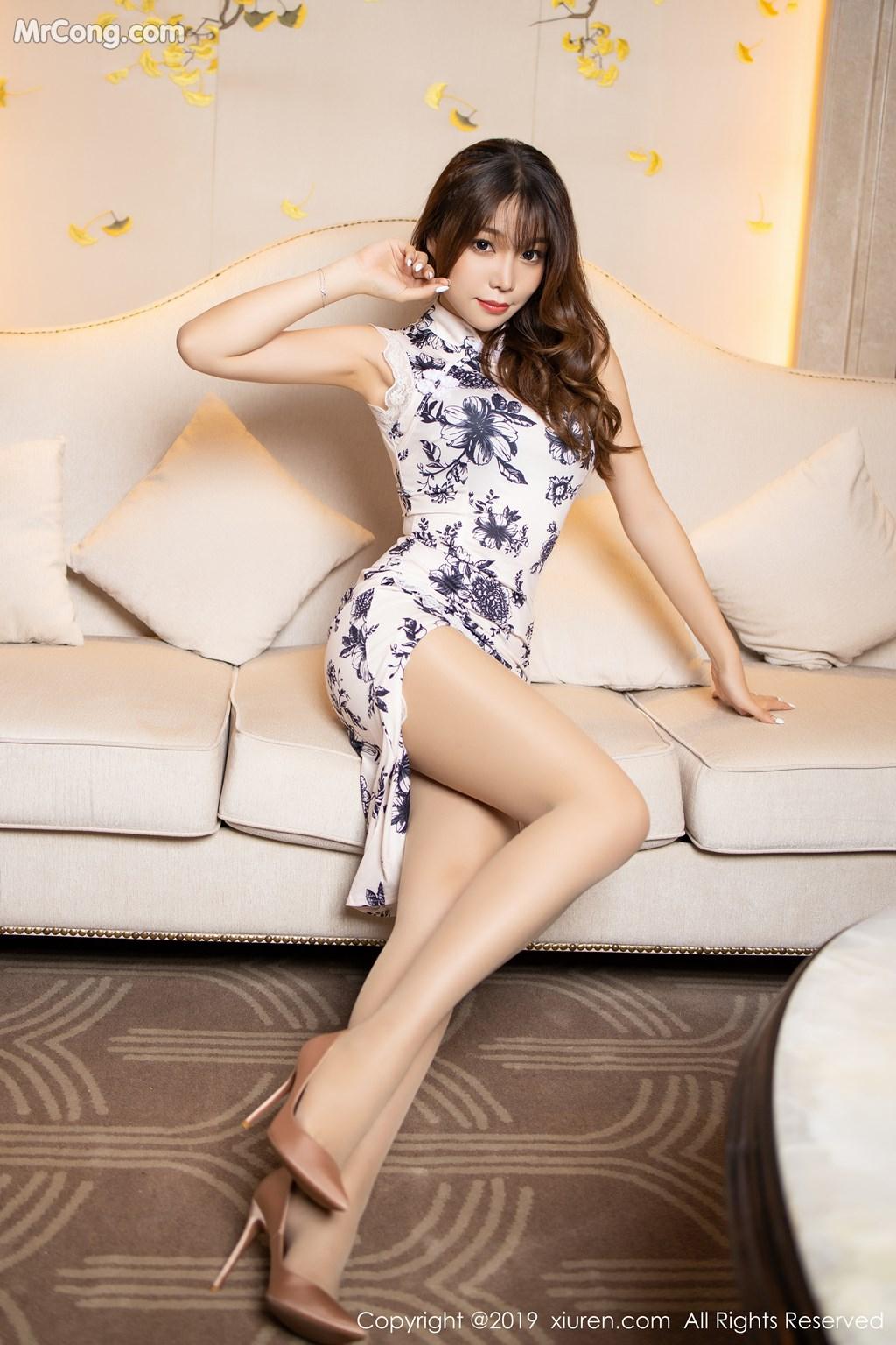 Image XIUREN-No.1622-Booty-Zhizhi-MrCong.com-002 in post XIUREN No.1622: Booty (芝芝) (65 ảnh)