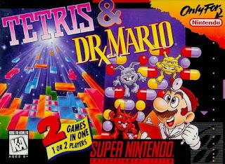 Tetris & Dr. Mario [ SNES ]