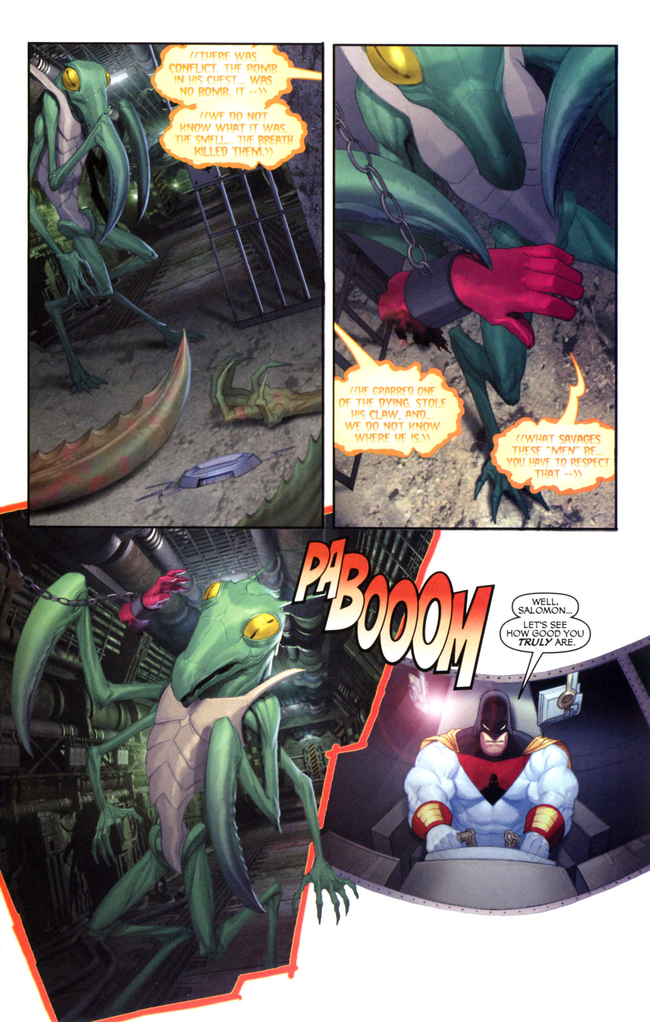 Read online Space Ghost (2005) comic -  Issue #5 - 23