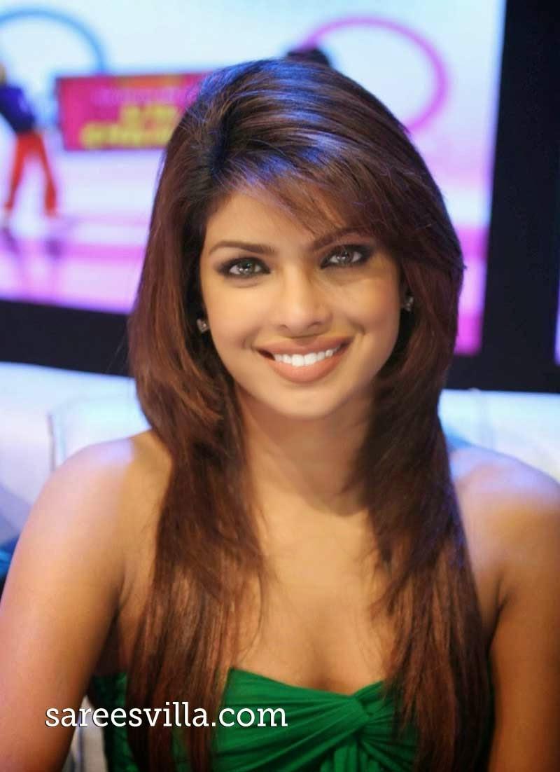 Priyanka Chopra Hairstyles Sarees Villa