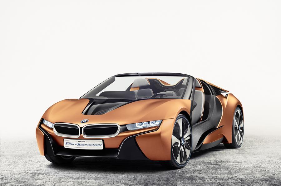 BMW CEO'su, Yeni i8 Roadster'ın 2018'de Geleceğini Doğruladı